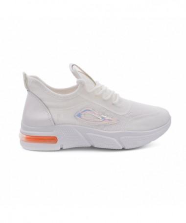 Pantofi Sport De Dama Ilara Albi - Trendmall.ro