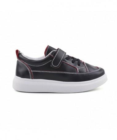 Pantofi Sport De Copii Cami Negru Cu Rosu - Trendmall.ro