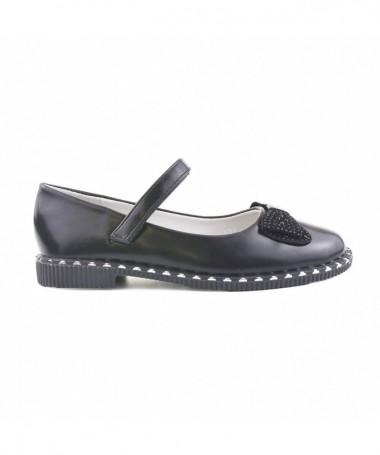 Pantofi Casual De Copii Meli Negri - Trendmall.ro
