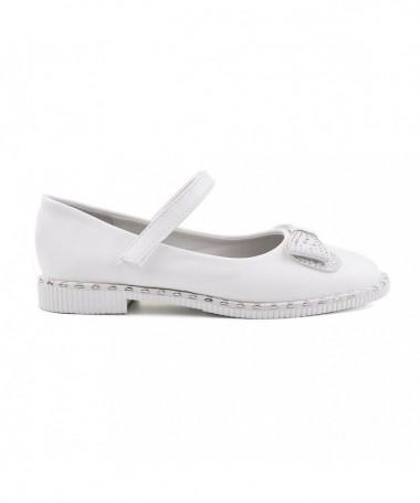Pantofi Casual De Copii Meli Albi - Trendmall.ro