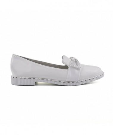 Pantofi Casual De Copii Siera Albi - Trendmall.ro