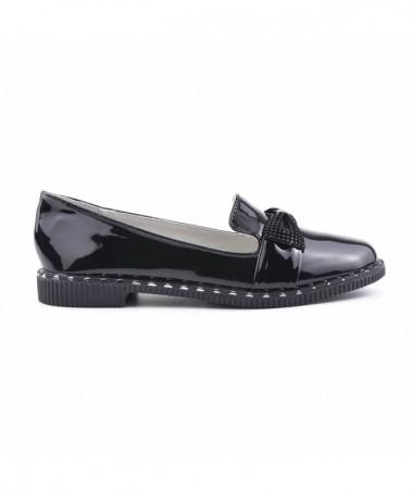 Pantofi Casual De Copii Siera Negri - Trendmall.ro
