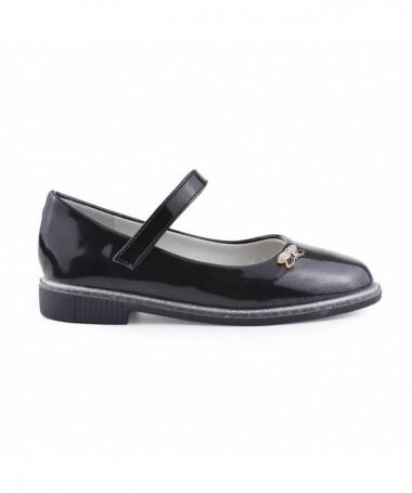 Pantofi Casual De Copii Minium Negri - Trendmall.ro