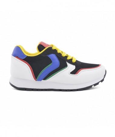 Pantofi Sport De Copii Meni Negru Cu Galben - Trendmall.ro