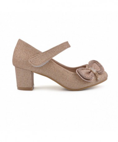 Pantofi Casual De Copii Felici Champagne - Trendmall.ro