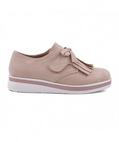 Pantofi Casual De Copii Mufins Roz - Trendmall.ro