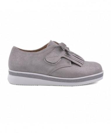 Pantofi Casual De Copii Mufins Gri - Trendmall.ro