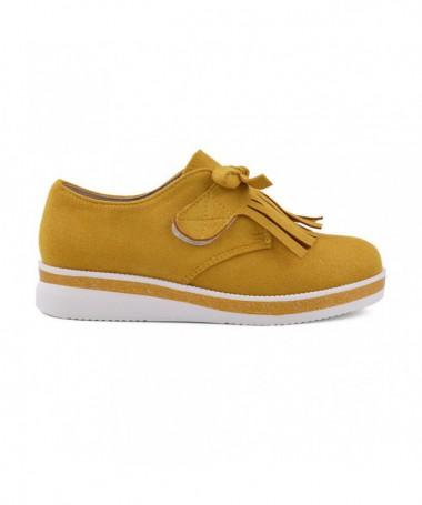 Pantofi Casual De Copii Mufins Galbeni - Trendmall.ro