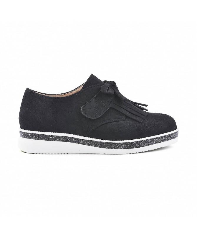Pantofi Casual De Copii Mufins Negri - Trendmall.ro