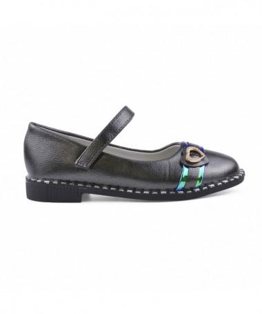 Pantofi Casual De Copii Meri Argintiu Inchis - Trendmall.ro