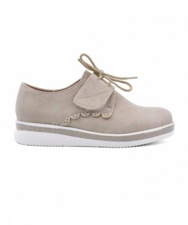 Pantofi Casual De Copii Ide Bej - Trendmall.ro