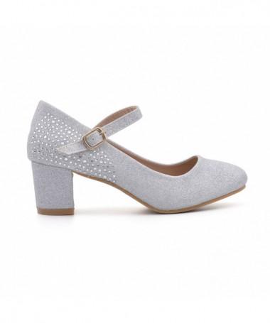 Pantofi Casual De Dama Eil Arginti - Trendmall.ro