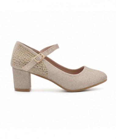 Pantofi Casual De Dama Eil Auriu - Trendmall.ro
