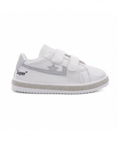 Pantofi Sport De Copii Sup Albi - Trendmall.ro