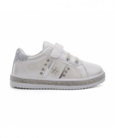 Pantofi Sport De Copii Pic Albi - Trendmall.ro