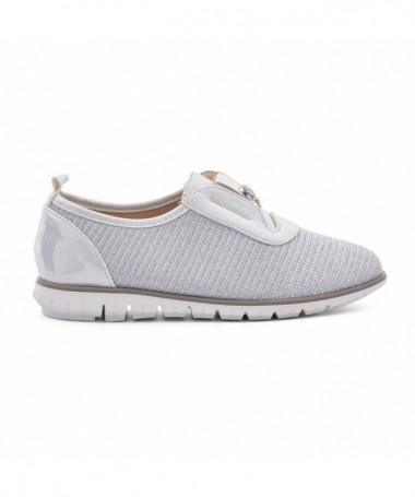 Pantofi Casual De Copii Alexis Arginti - Trendmall.ro