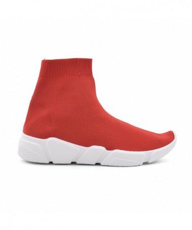 Pantofi Sport De Dama Exte Rosii - Trendmall.ro
