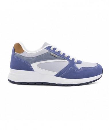 Pantofi Sport De Barbati Shoens Albastri - Trendmall.ro