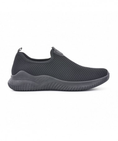 Pantofi Sport De Barbati Bertisina Full Negri - Trendmall.ro