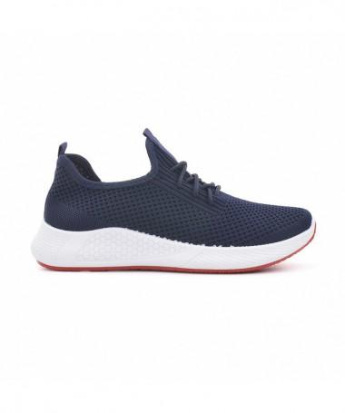 Pantofi Sport De Barbati Carlio Albastri - Trendmall.ro