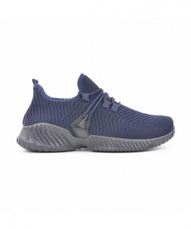 Pantofi Sport De Barbati Axel Albastri - Trendmall.ro