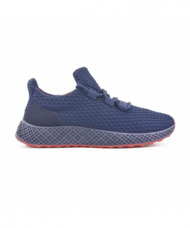 Pantofi Sport De Barbati Enice Albastri - Trendmall.ro