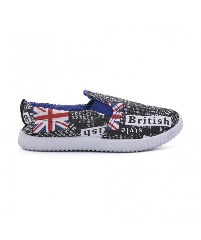 Espadrile De Copii British Negre - Trendmall.ro