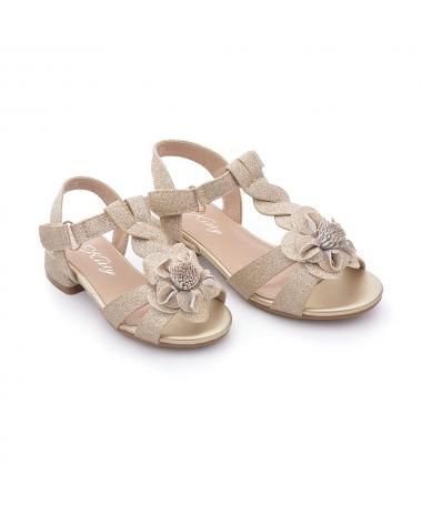 Sandale De Copii Flavi Auri - Trendmall.ro