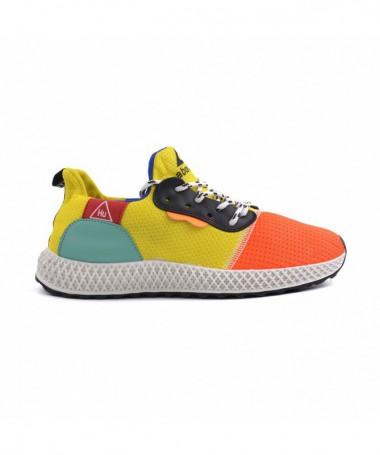 Pantofi Sport De Dama Hurry Galbeni - Trendmall.ro