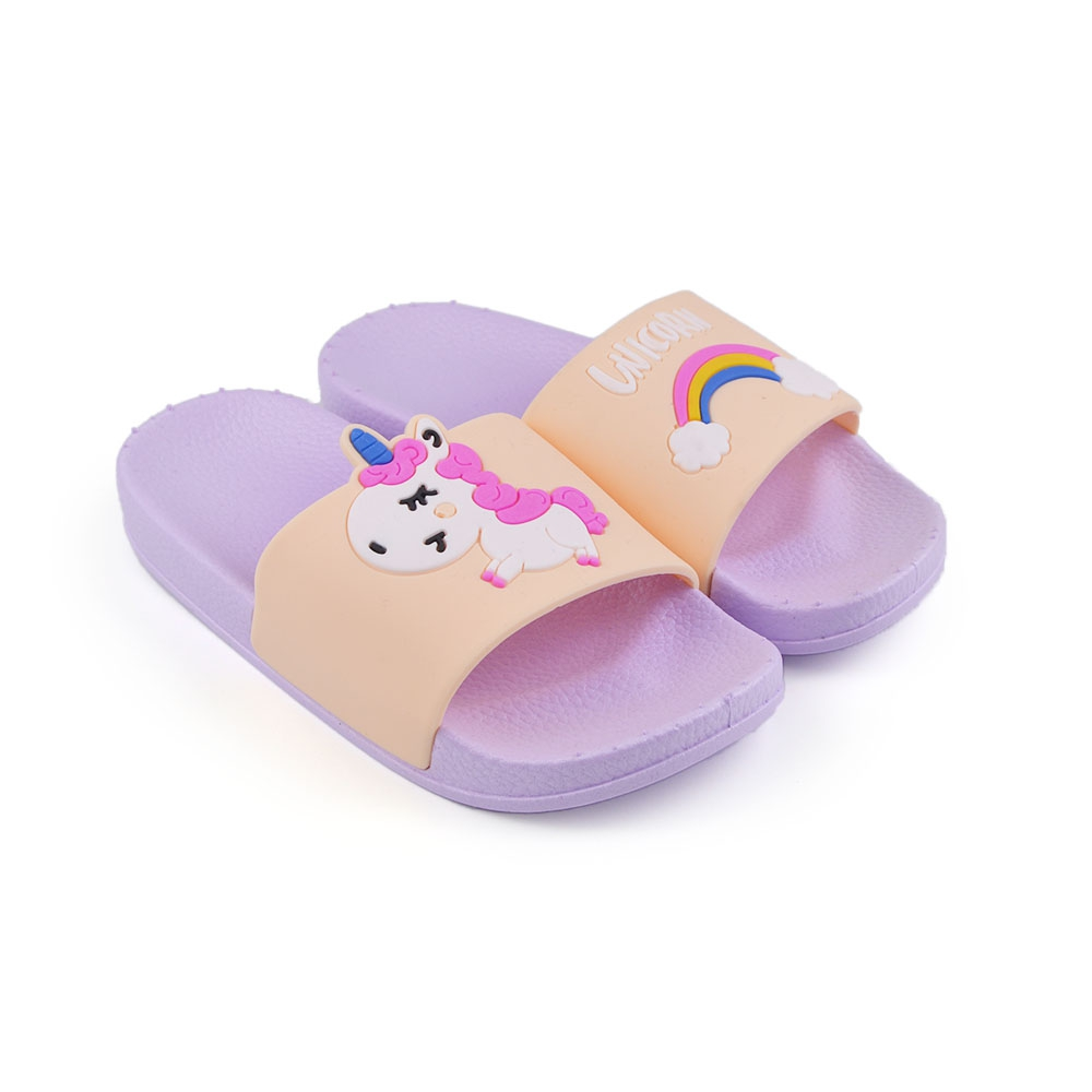 Slapi De Copii Unicorn Mov - Trendmall.ro