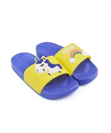Slapi De Copii Unicorn Albastri - Trendmall.ro