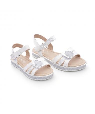 Sandale De Copii Gail Albe - Trendmall.ro