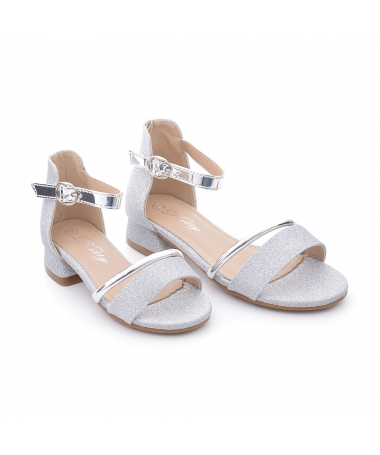 Sandale De Copii Davino Arginti - Trendmall.ro