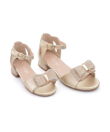 Sandale De Copii Cosmeti Auri - Trendmall.ro