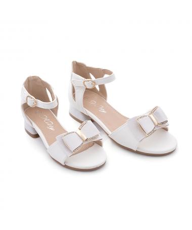 Sandale De Copii Cosmeti Albe - Trendmall.ro