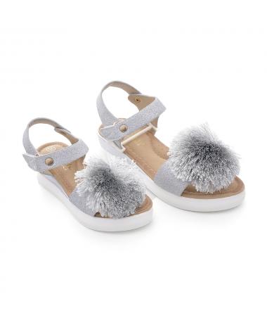 Sandale De Copii Celia Arginti - Trendmall.ro