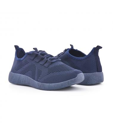 Pantofi Sport De Dama Garel Albastri - Trendmall.ro