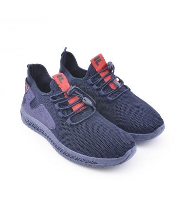 Pantofi Sport De Barbati Fert Albastri - Trendmall.ro