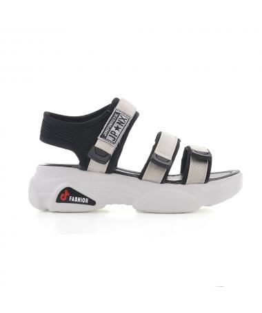 Sandale Cu Platforma De Dama Jeri Bej - Trendmall.ro