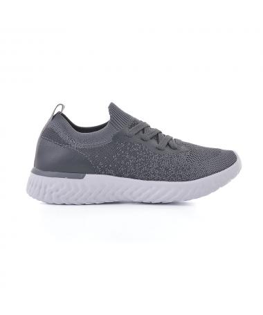 Pantofi Sport De Copii Deniti Gri - Trendmall.ro