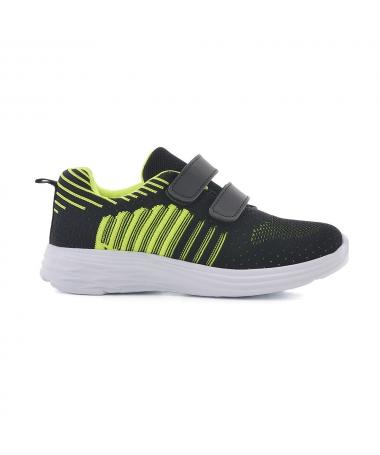 Pantofi Sport De Copii Nichi Negru Cu Verde - Trendmall.ro