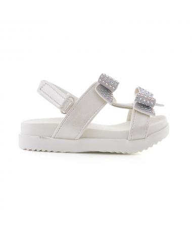 Sandale De Dama Ribin Albe - Trendmall.ro