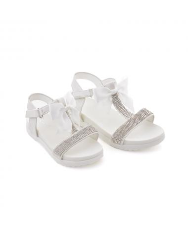Sandale De Copii Grano Alba - Trendmall.ro