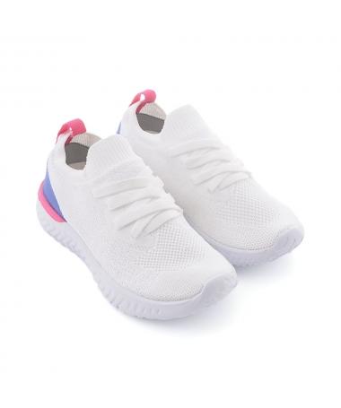 Pantofi Sport De Copii Juni Albi - Trendmall.ro