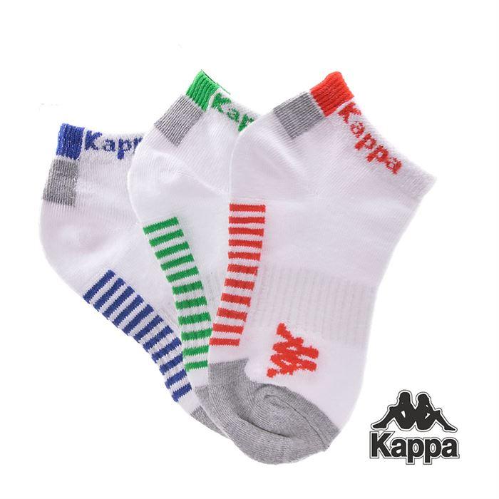 Set Sosete Scurte Kappa K2 Albe 3 Perechi - Trendmall.ro