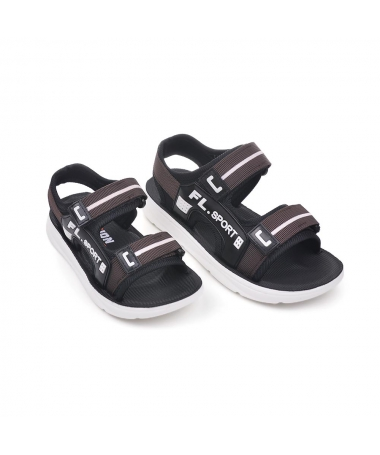 Sandale Sport De Copii Flort Maro - Trendmall.ro