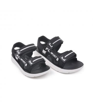 Sandale Sport De Copii Flort Negre - Trendmall.ro
