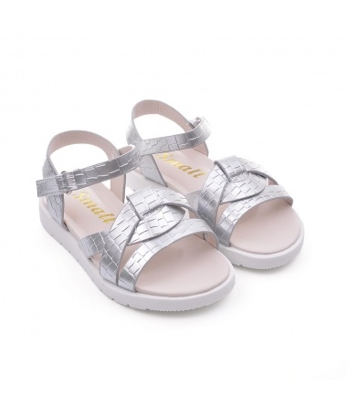 Sandale De Copii Lenisier Arginti - Trendmall.ro