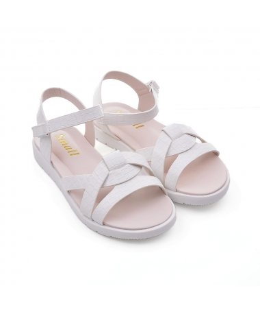 Sandale De Copii Lenisier Albe - Trendmall.ro