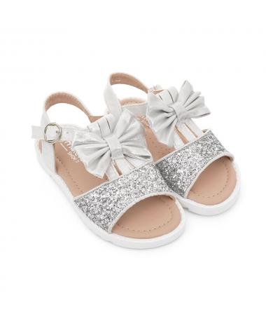 Sandale De Dama Faira Albe - Trendmall.ro